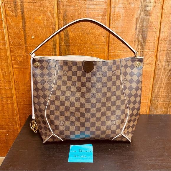 Louis Vuitton Damier Ebene Caissa Shoulder Bag